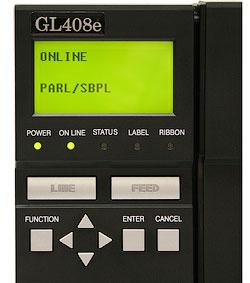 Панель управления SATO GL400e